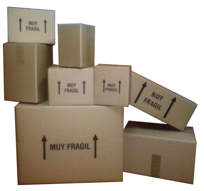 Cajas de cartón de cualquier medida y calidad