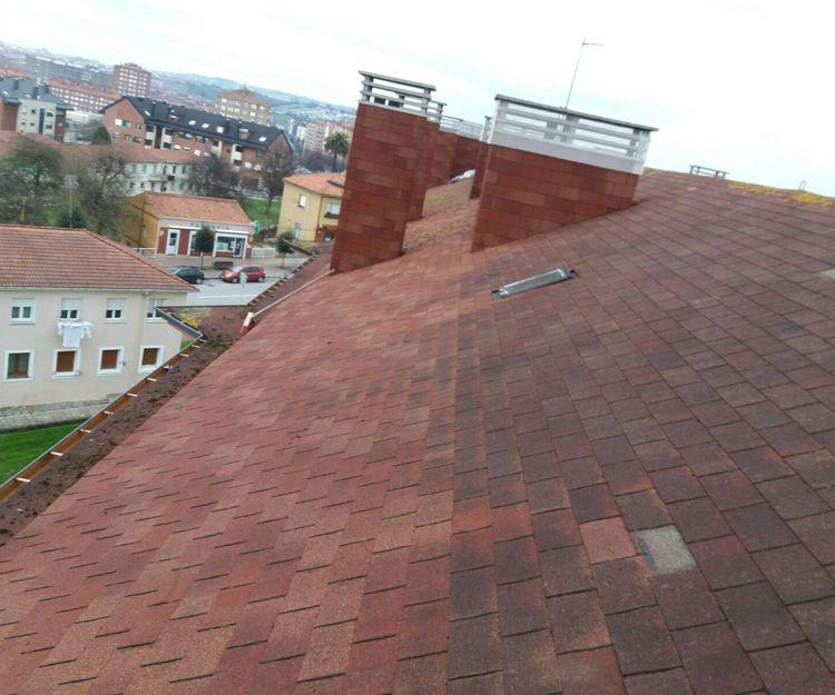 Reparación de cubiertas y tejados en Gijón