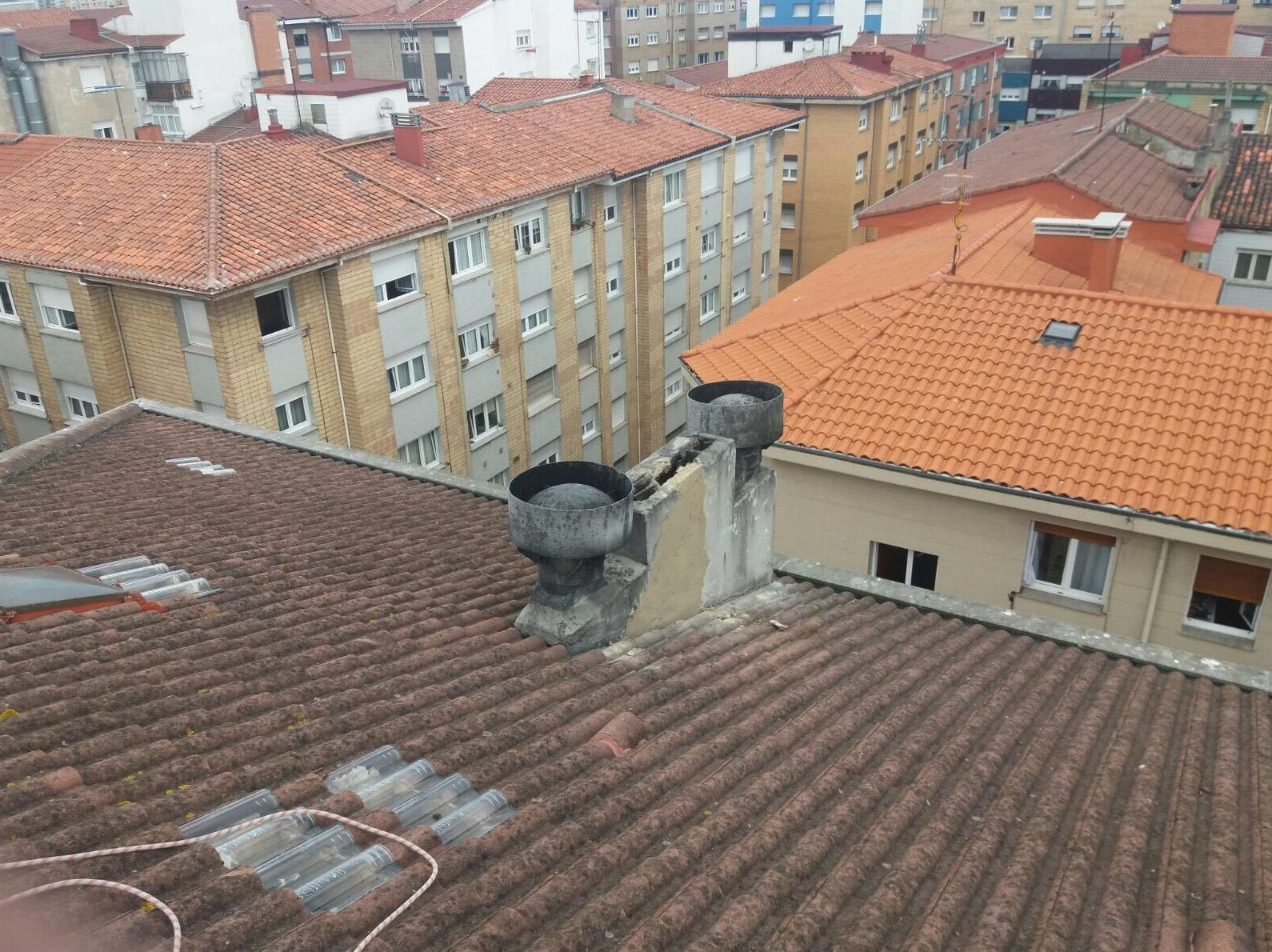Foto 57 de Cubiertas y tejados en Gijón | Tecons