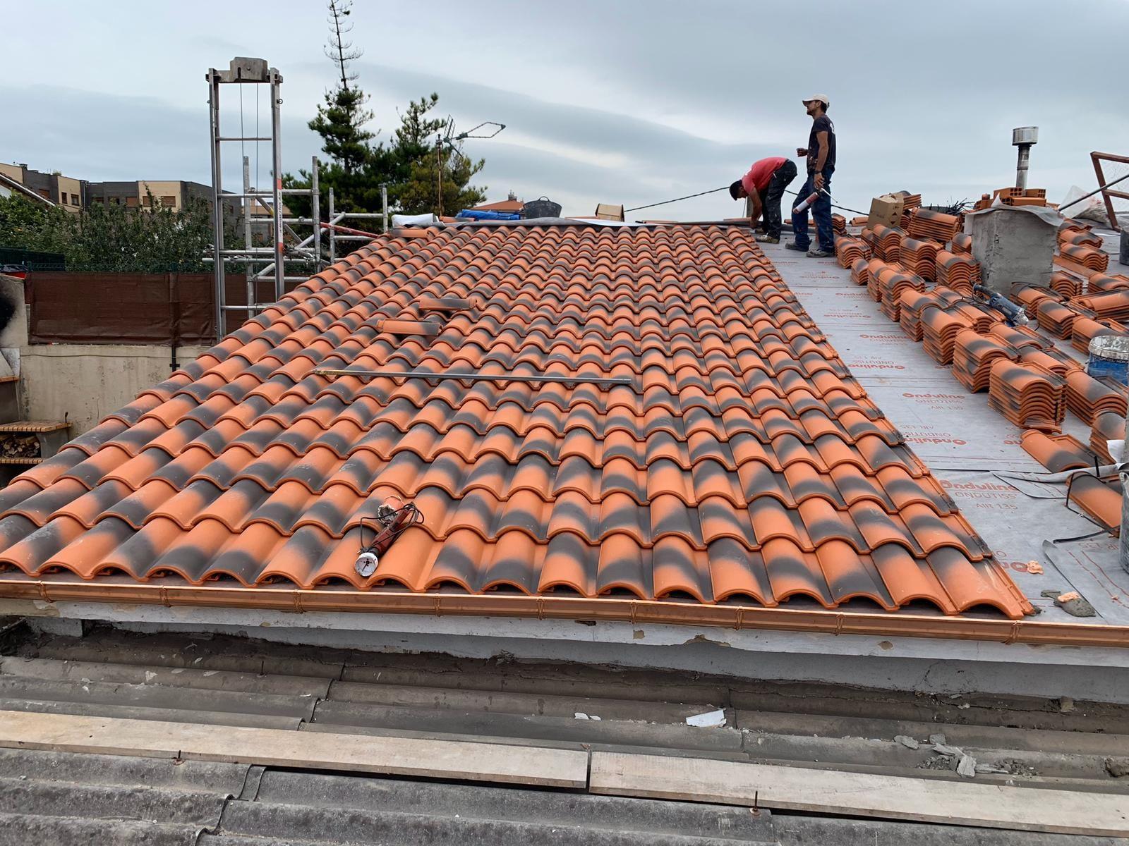 Foto 22 de Cubiertas y tejados en Gijón | Tecons