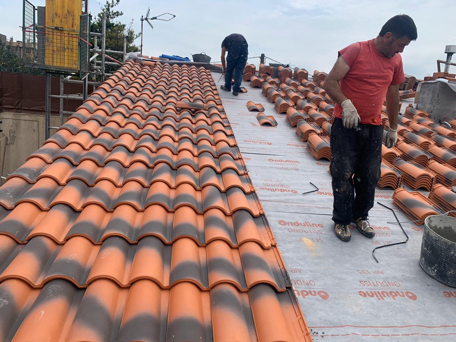 Foto 19 de Cubiertas y tejados en Gijón | Tecons