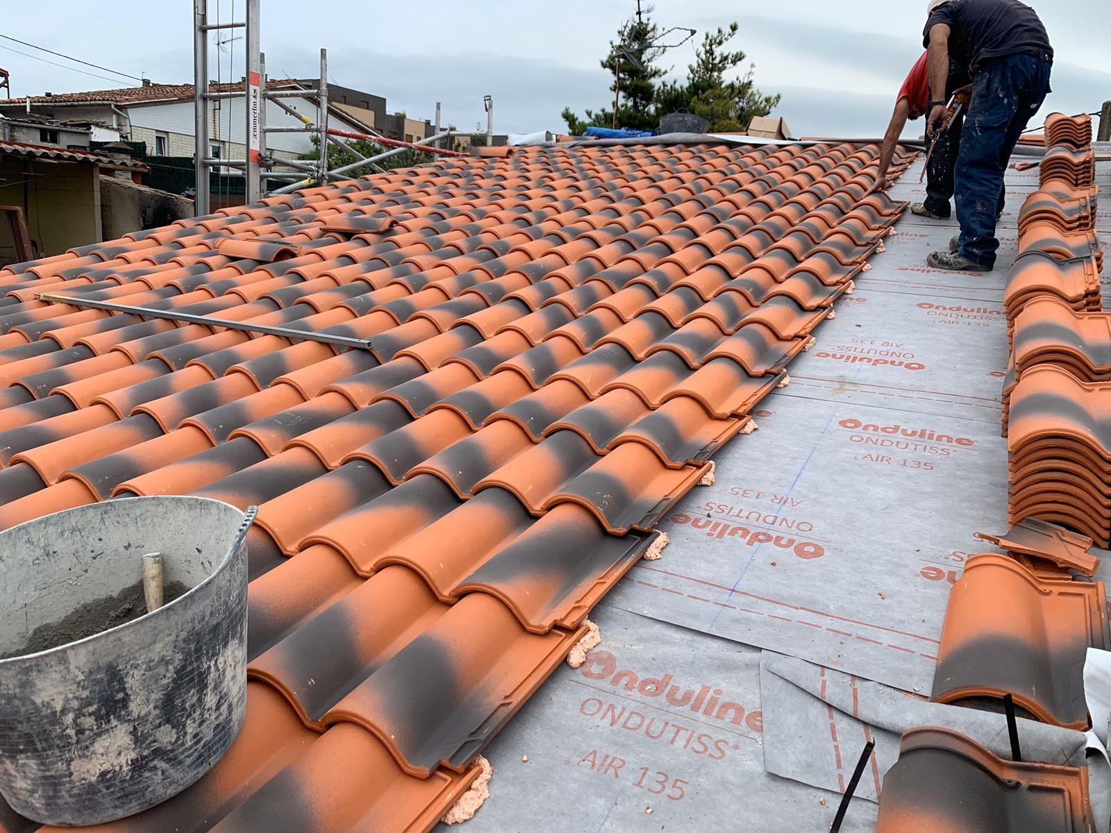 Foto 21 de Cubiertas y tejados en Gijón | Tecons