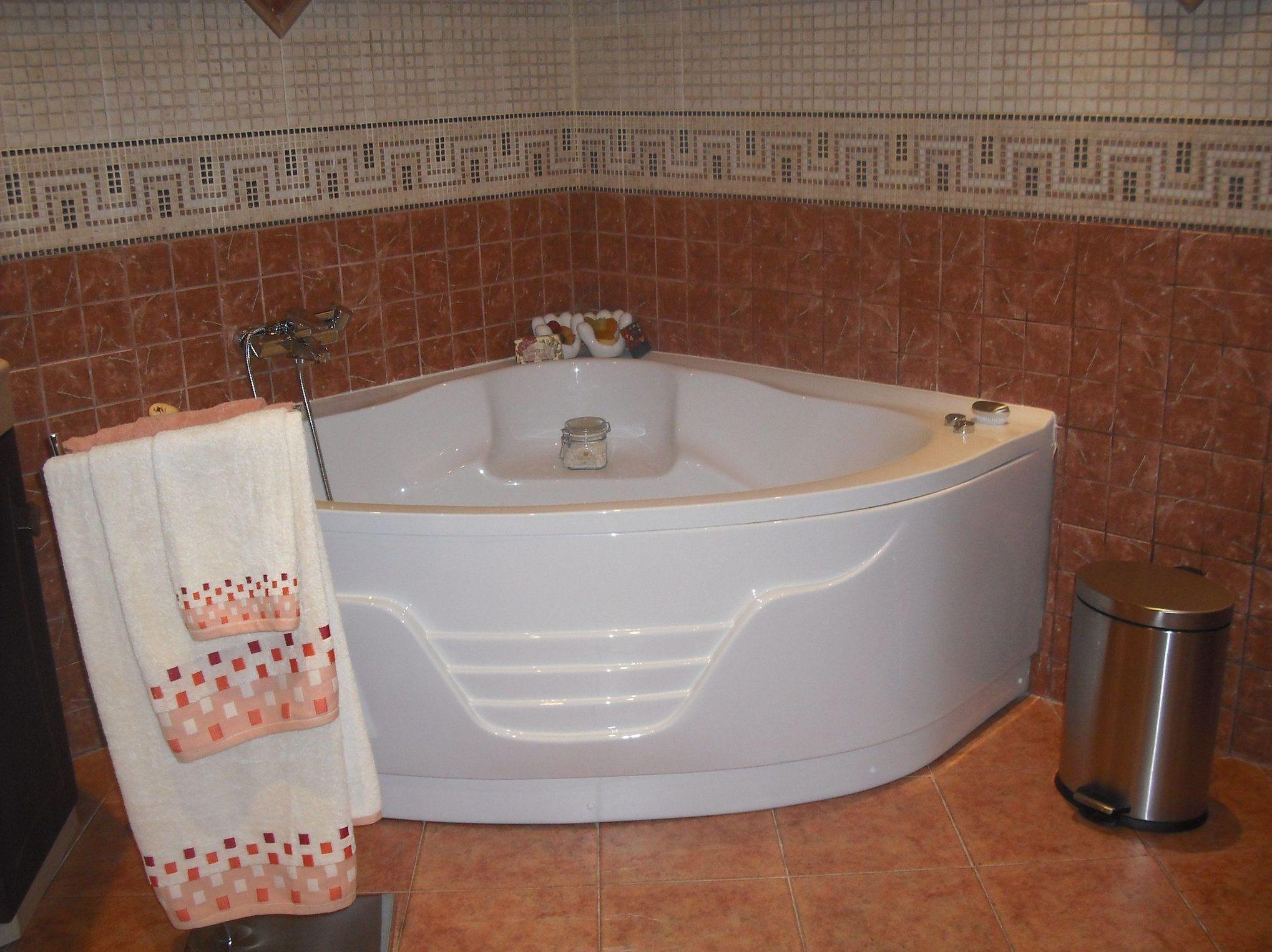 Instalación de bañera de hidromasaje
