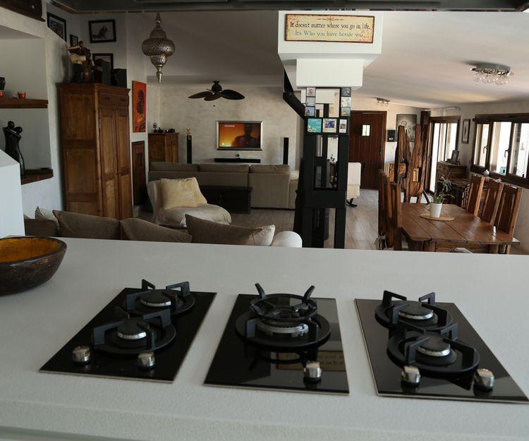 Alquiler de chalet con gran cocina en Mijas pueblo