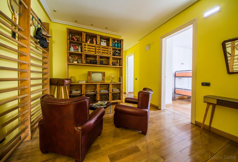 Hostel con agradables zonas comunes en León