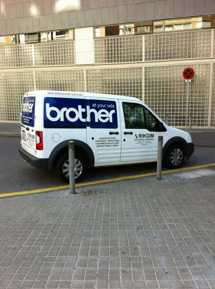 Distribuidor oficial Brother en Barcelona