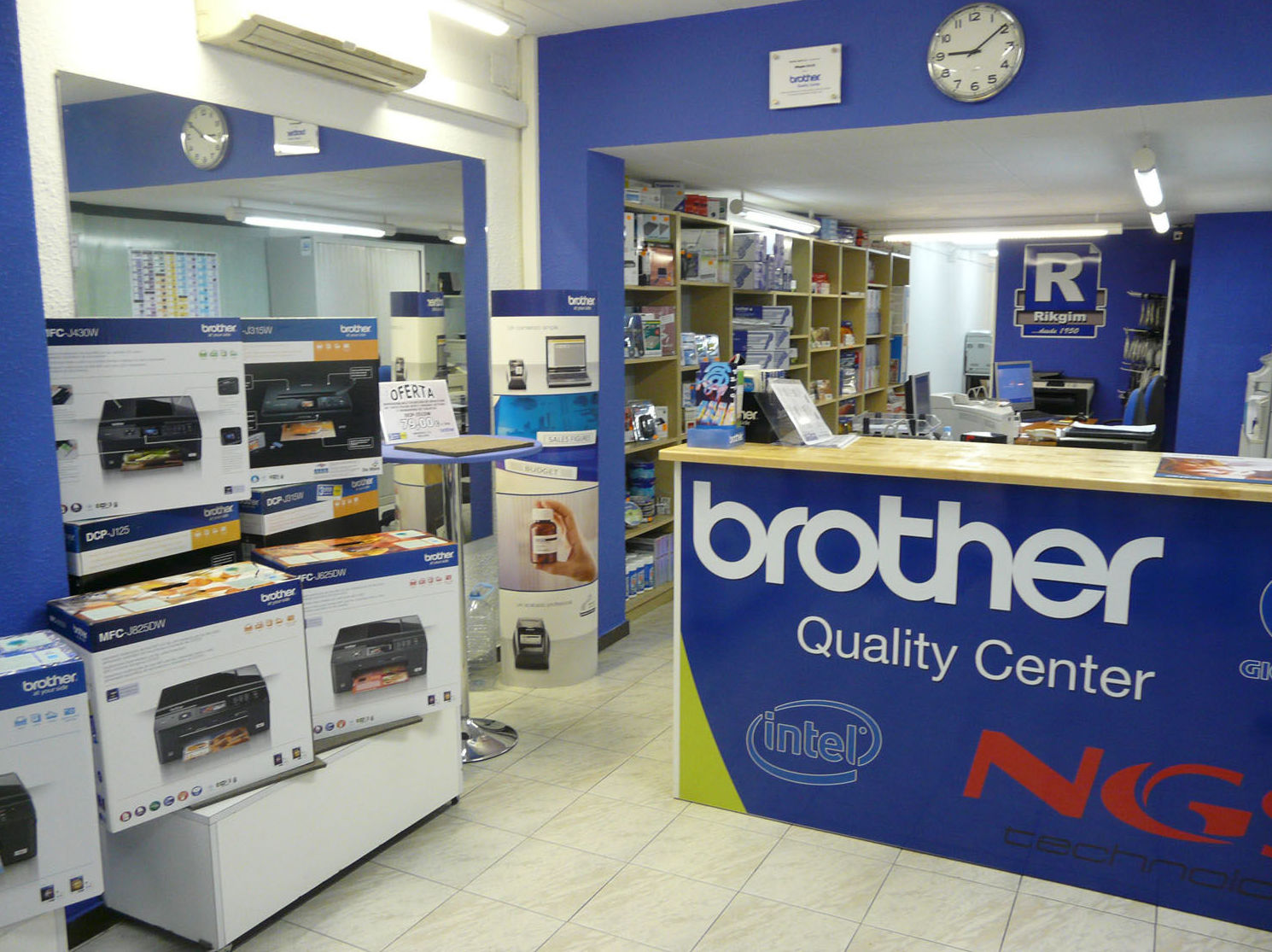 Servicio Técnico Oficial Brother en Barcelona