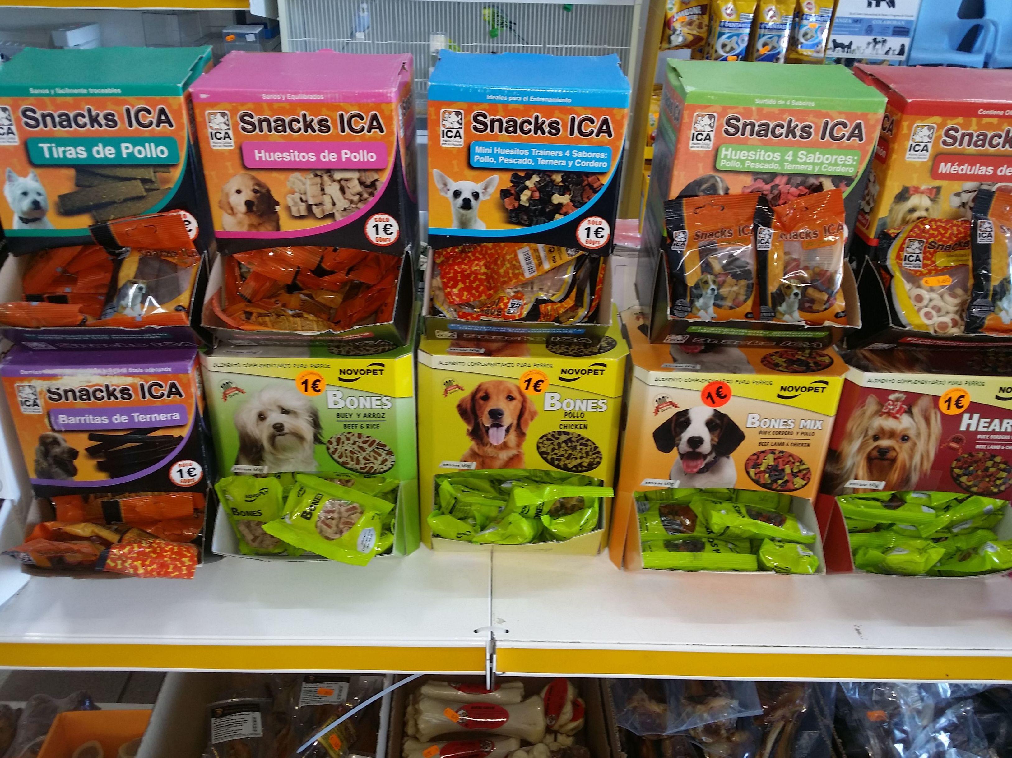 Snacks para perros: CATÁLOGO de Don Perro