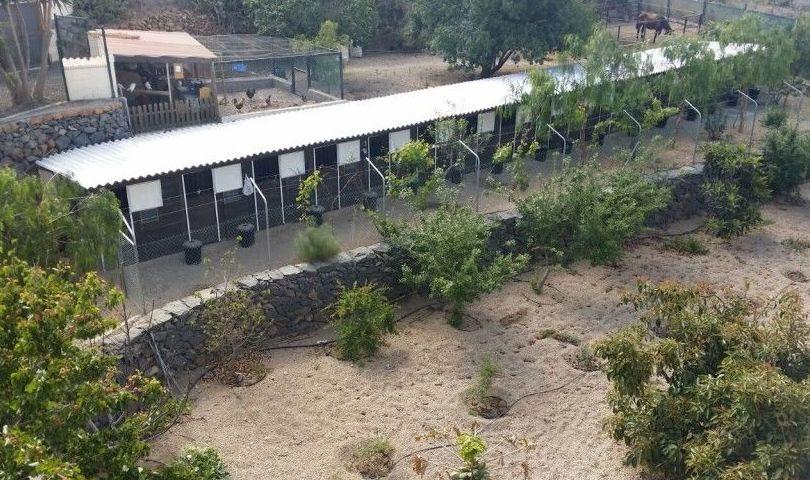 Vista aérea del hotel Don Perro