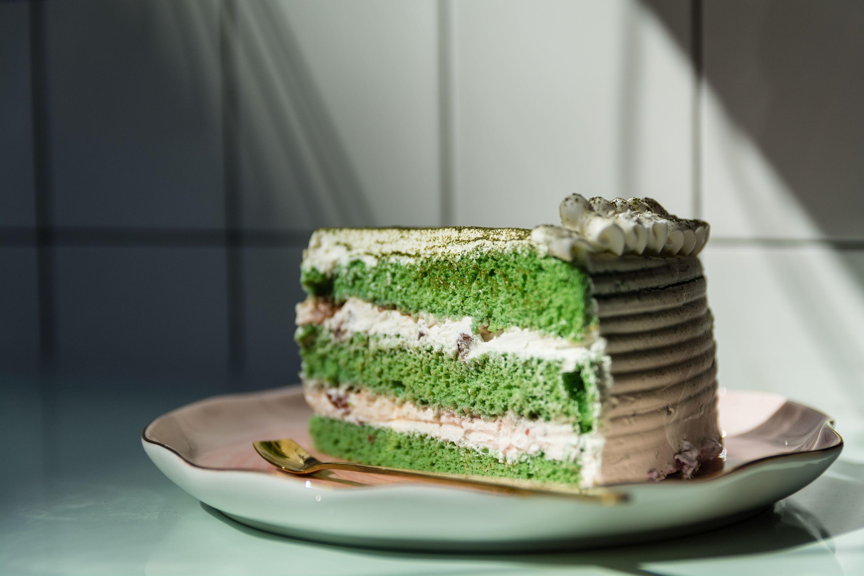 Tarta con sabores exóticos
