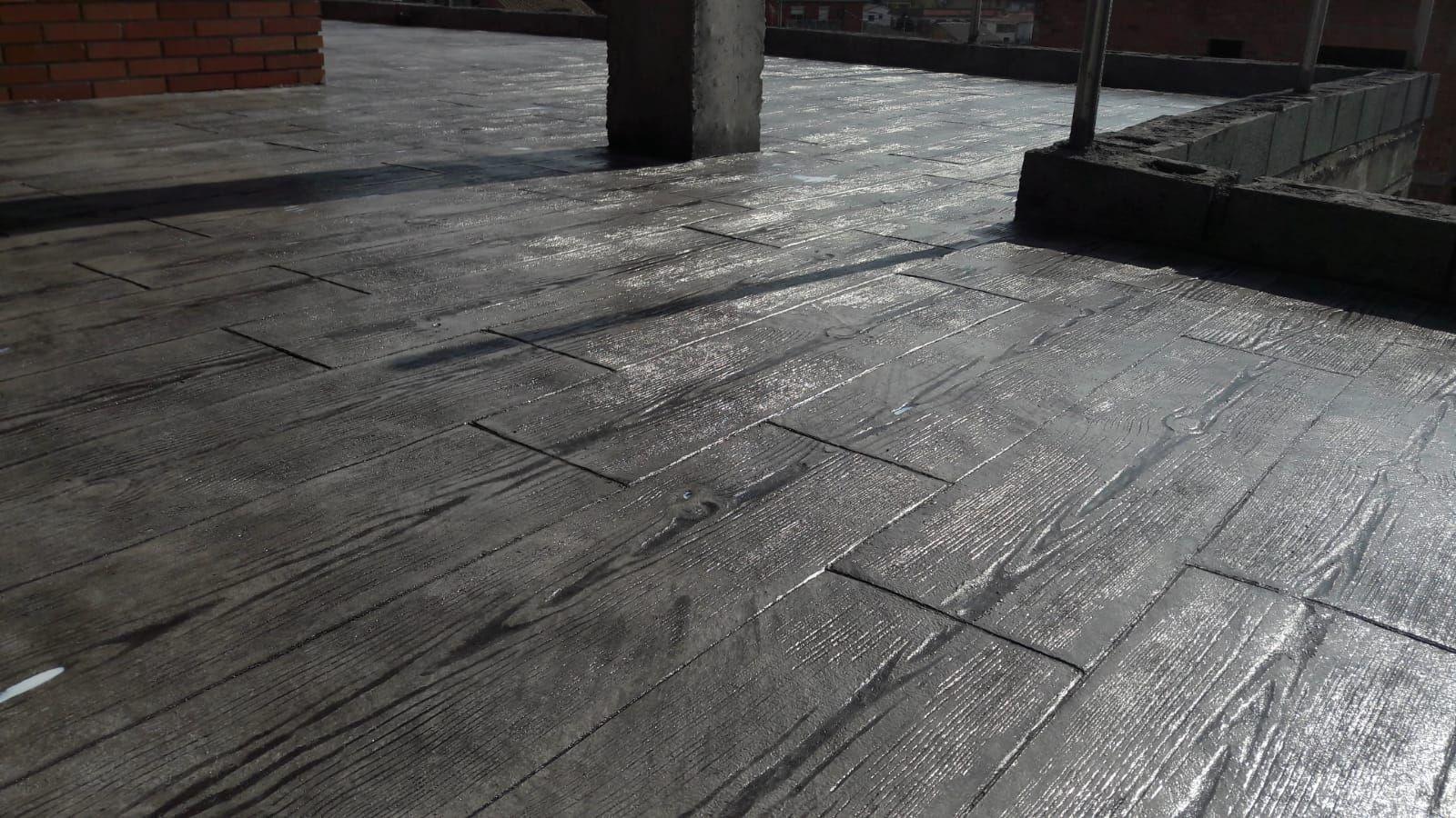 Pavimento impreso Terrassa