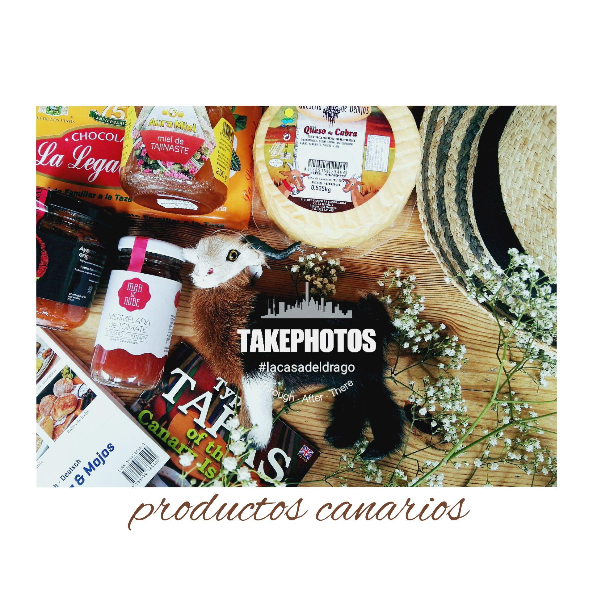 Productos de gastronomía canaria