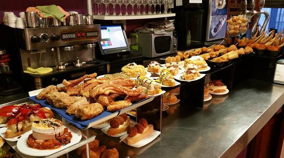 Nuestra barra: Carta de Bar Restaurante Erkiaga