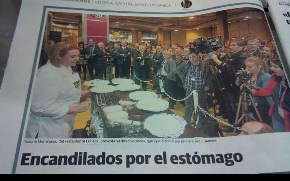 EN PRENSA FITUR 2014 ( MADRID )