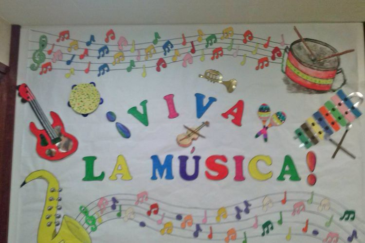 Semana de la música en nuestro colegio
