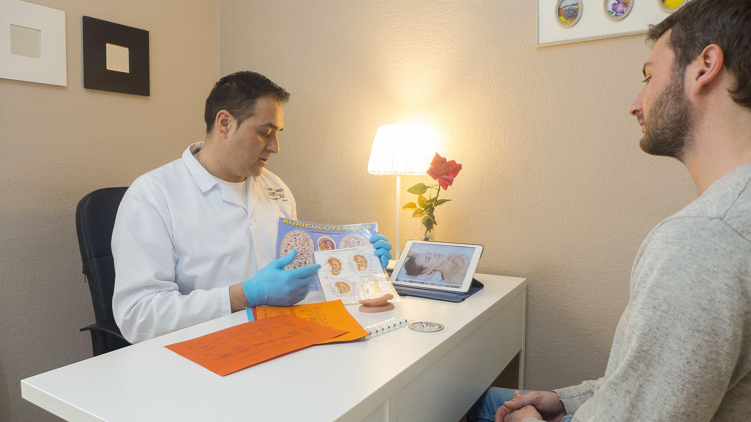 Consulta dirigida por el terapeuta Fran Gamiz