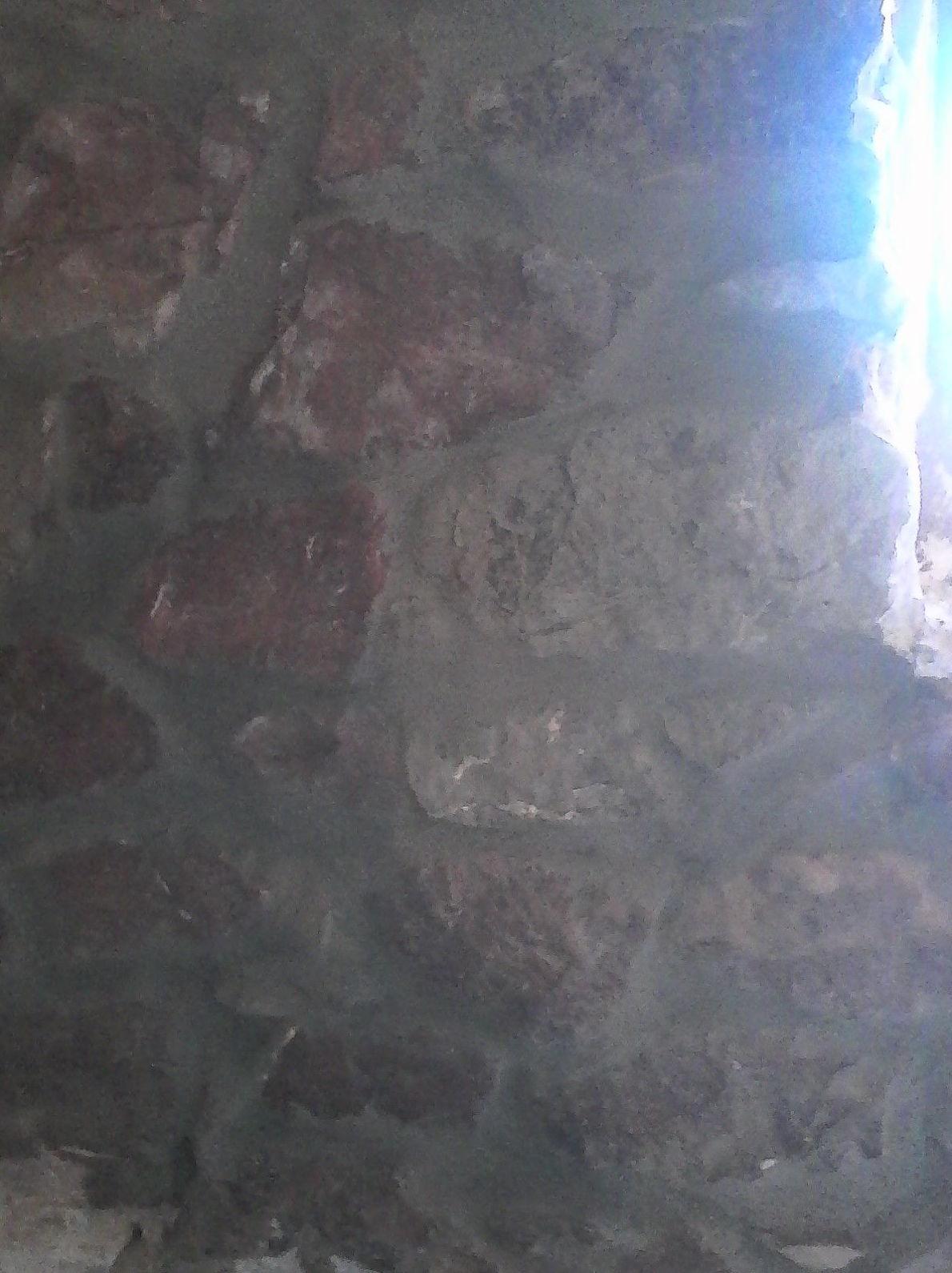 limpiar piedra natural y volver a darle mortero para dejar la piedra vista