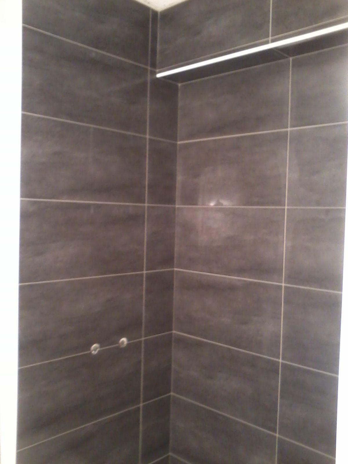 alicatado de interior de ducha