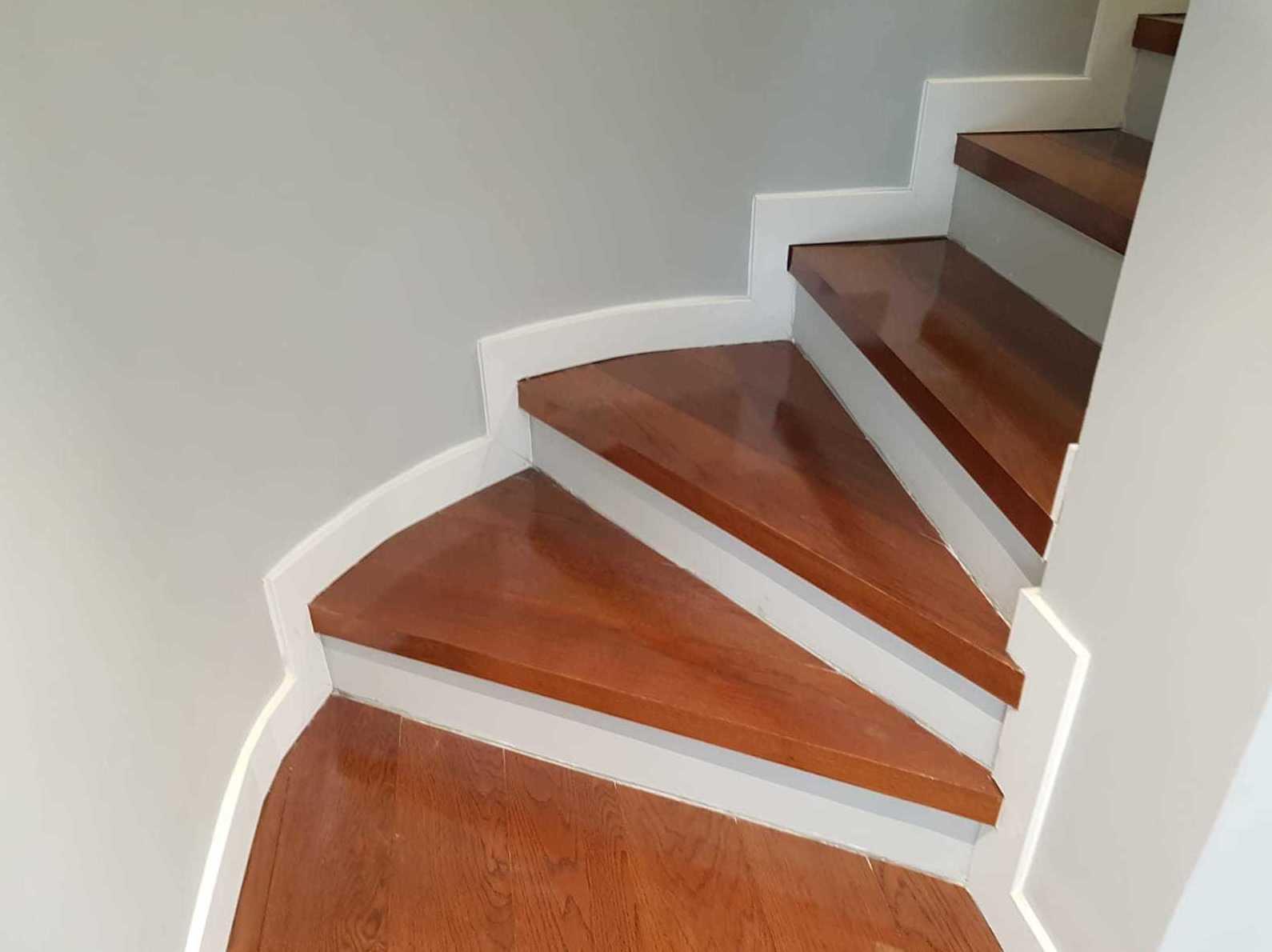 Kilenium Tarima flotante Roble teka para escaleras instalacion woodmagik en Madrid