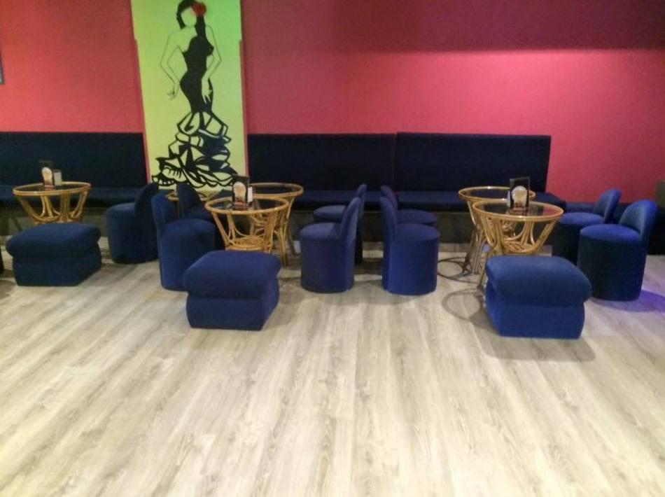 Woodmagik, Instalación de suelo laminado para cafeteria