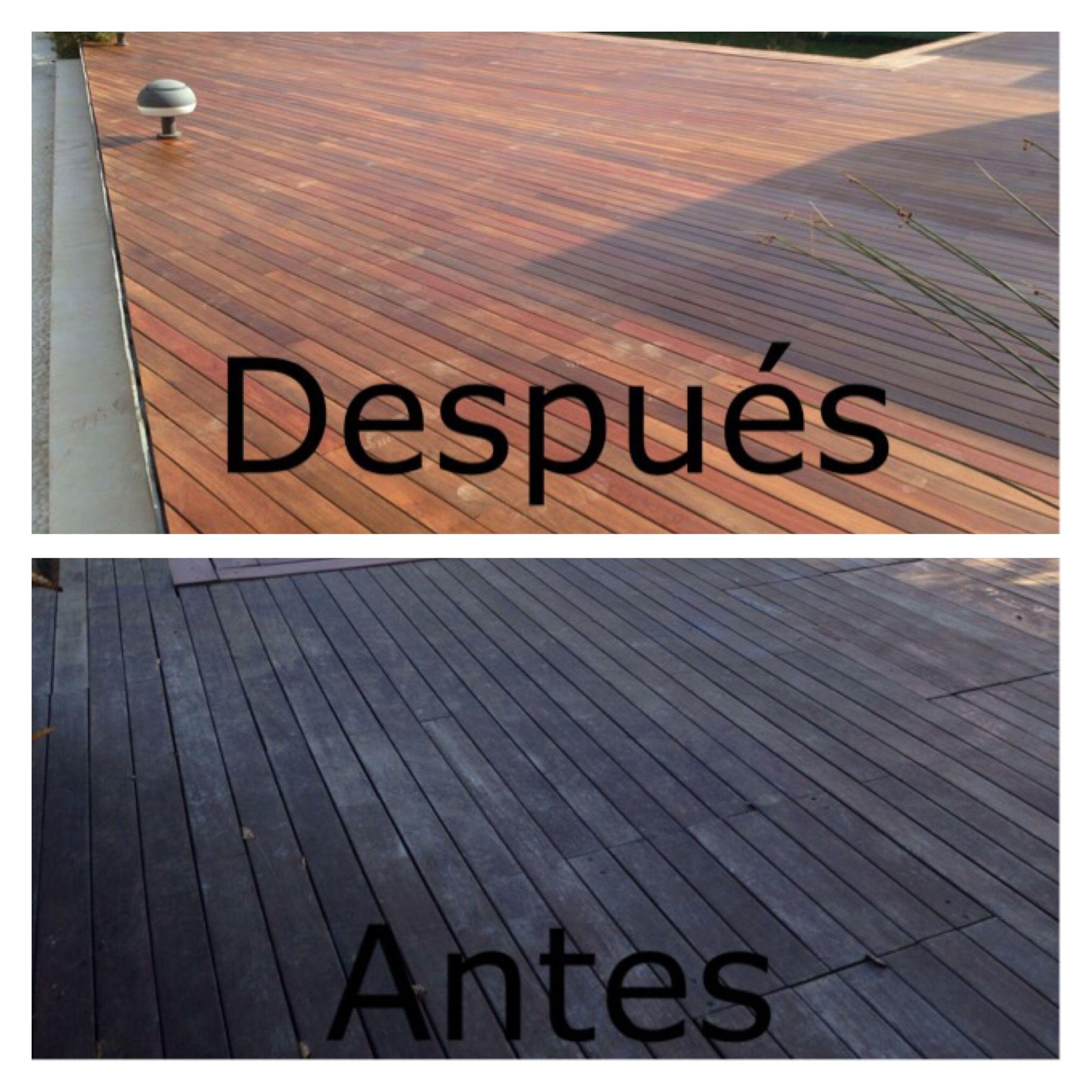 Lijado y aceitado para tarimas en piscinas en Madrid por woodmagik