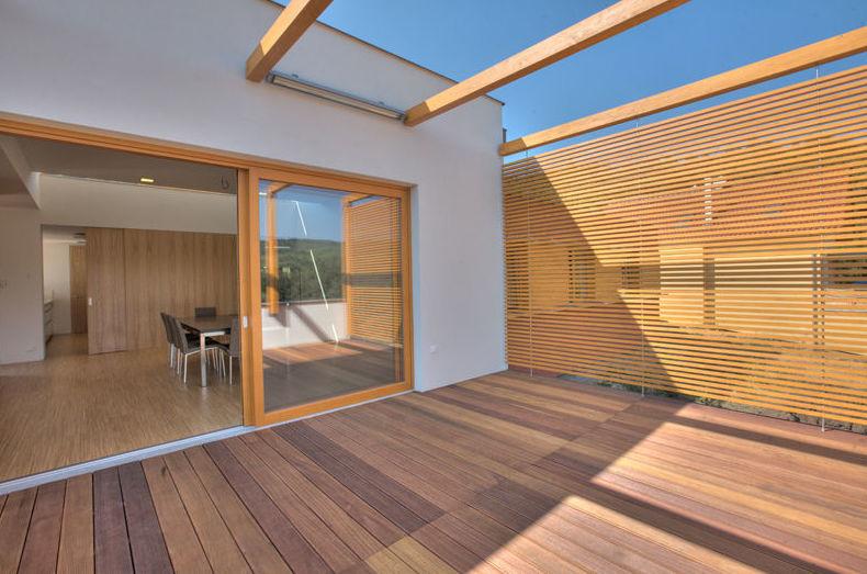 Woodmagik Tarima exterior de madera