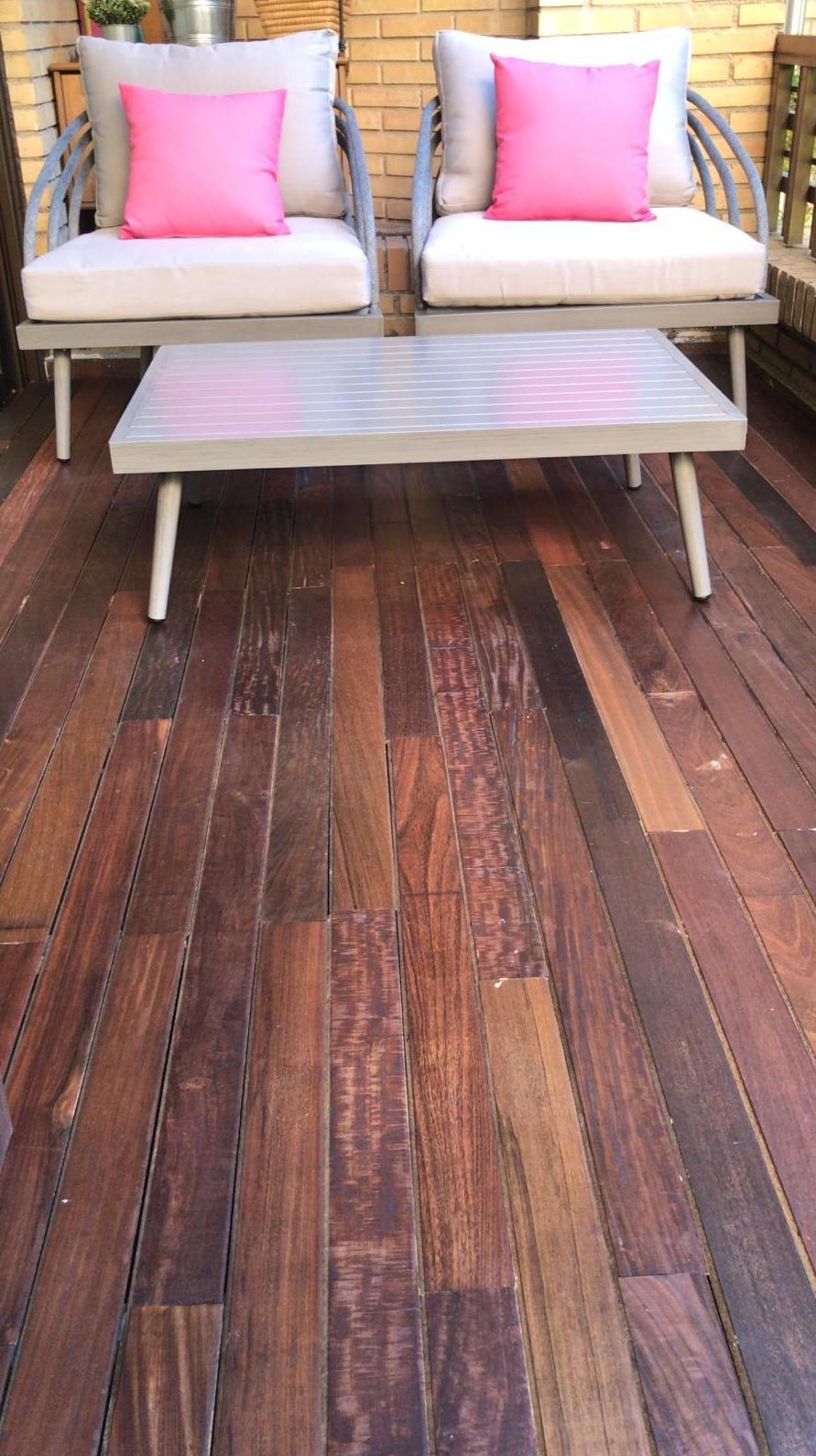 Tarima de madera en Majadahonda