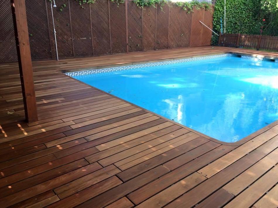 Woodmagik, suelos de madera para piscinas