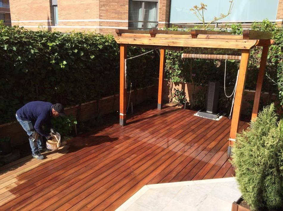 Aceitamos suelos de madera