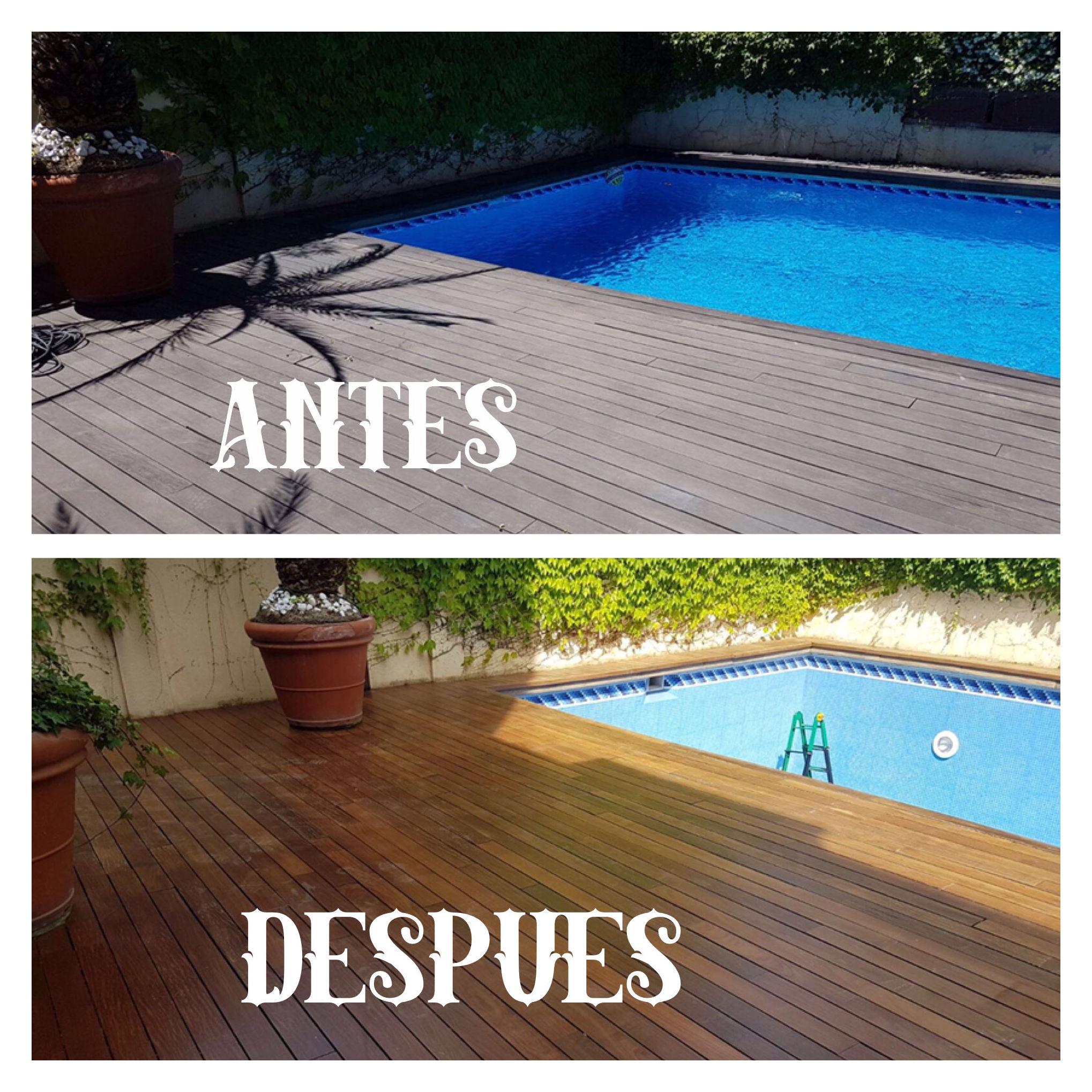 Reparar tarima exterior en Madrid