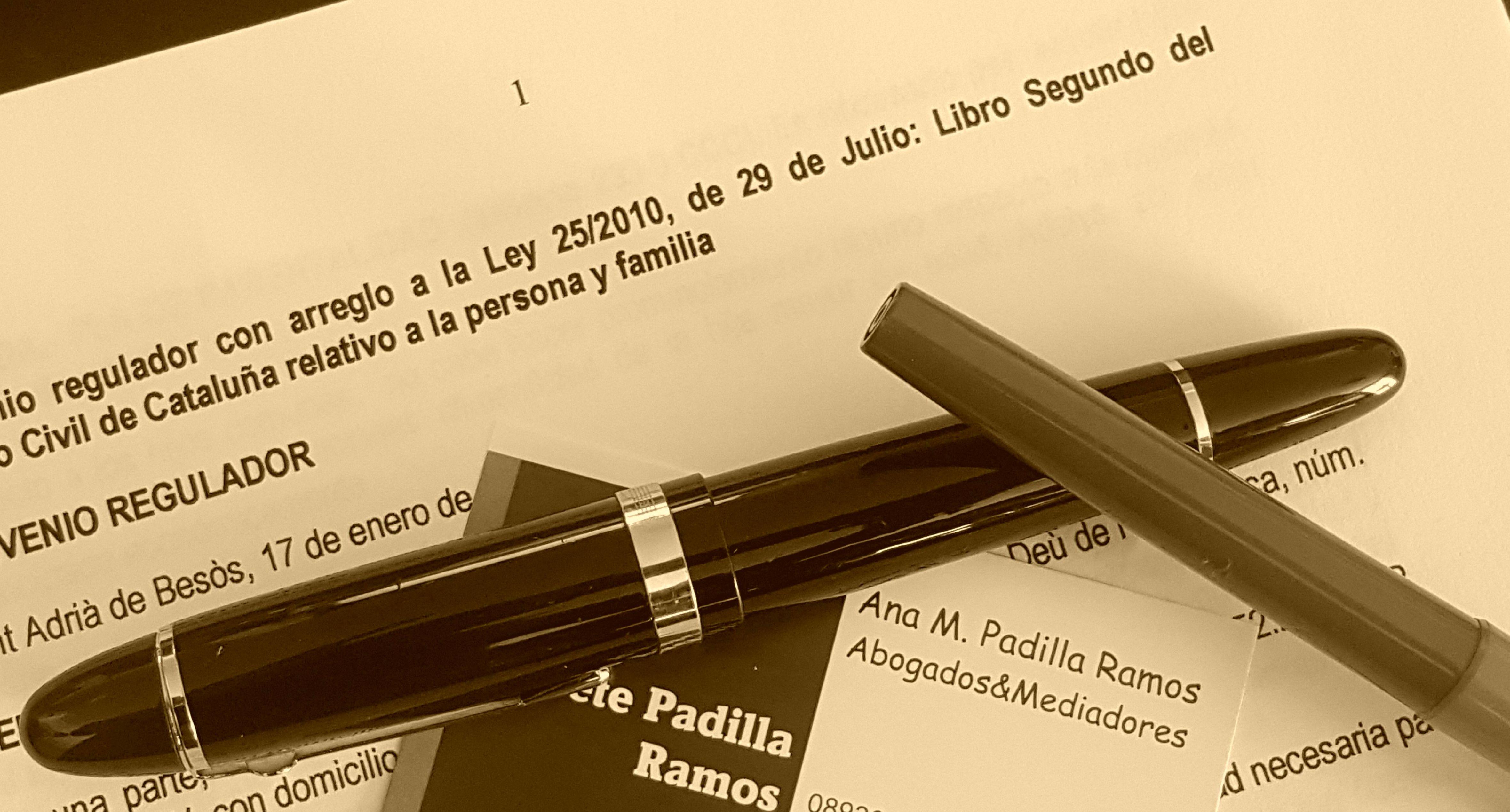 Divorcios ante Notario: Areas de actuación de Bufete Padilla Ramos, Abogados - Mediadores