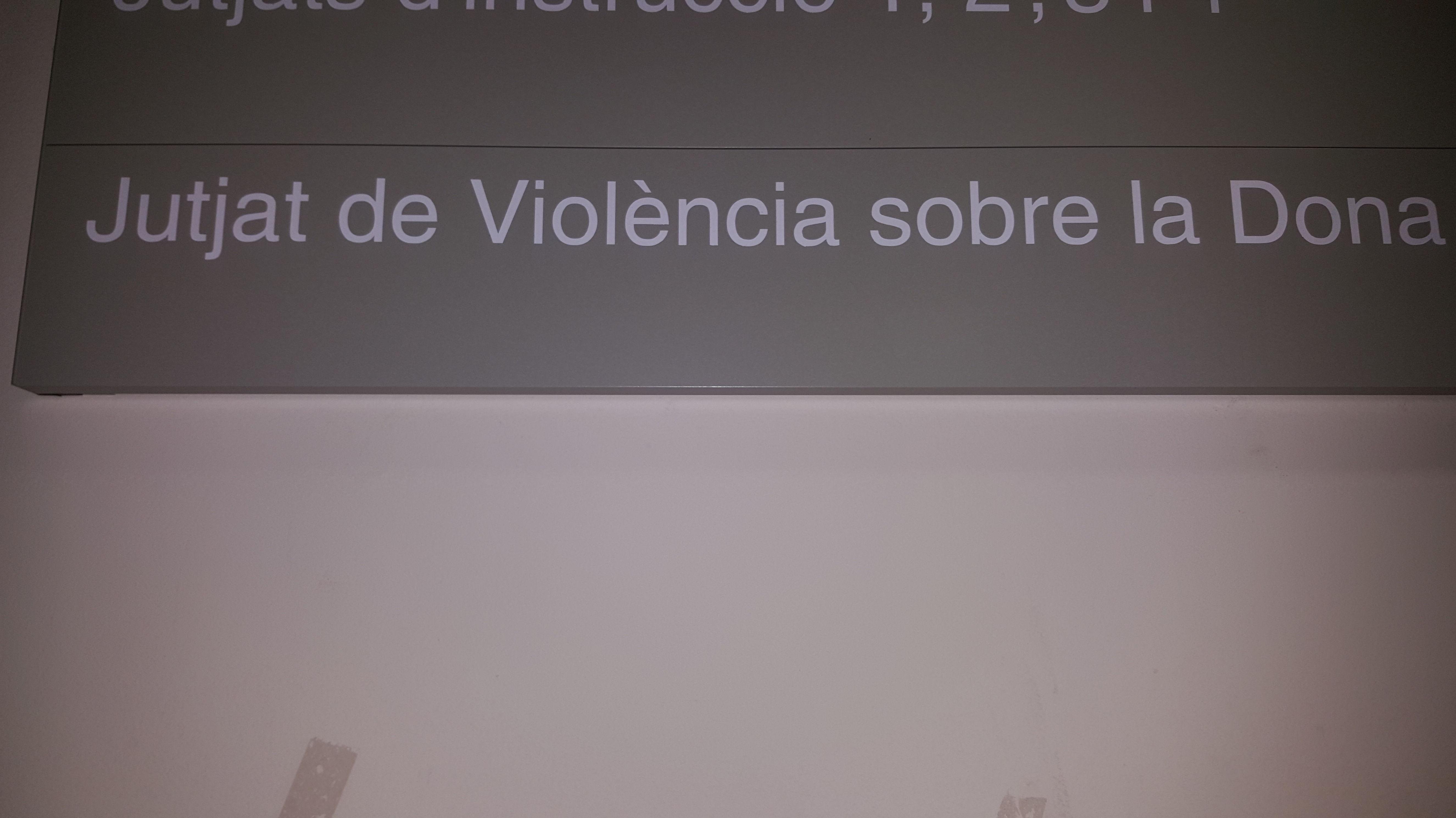 Jutjat Violència sobre la Dona