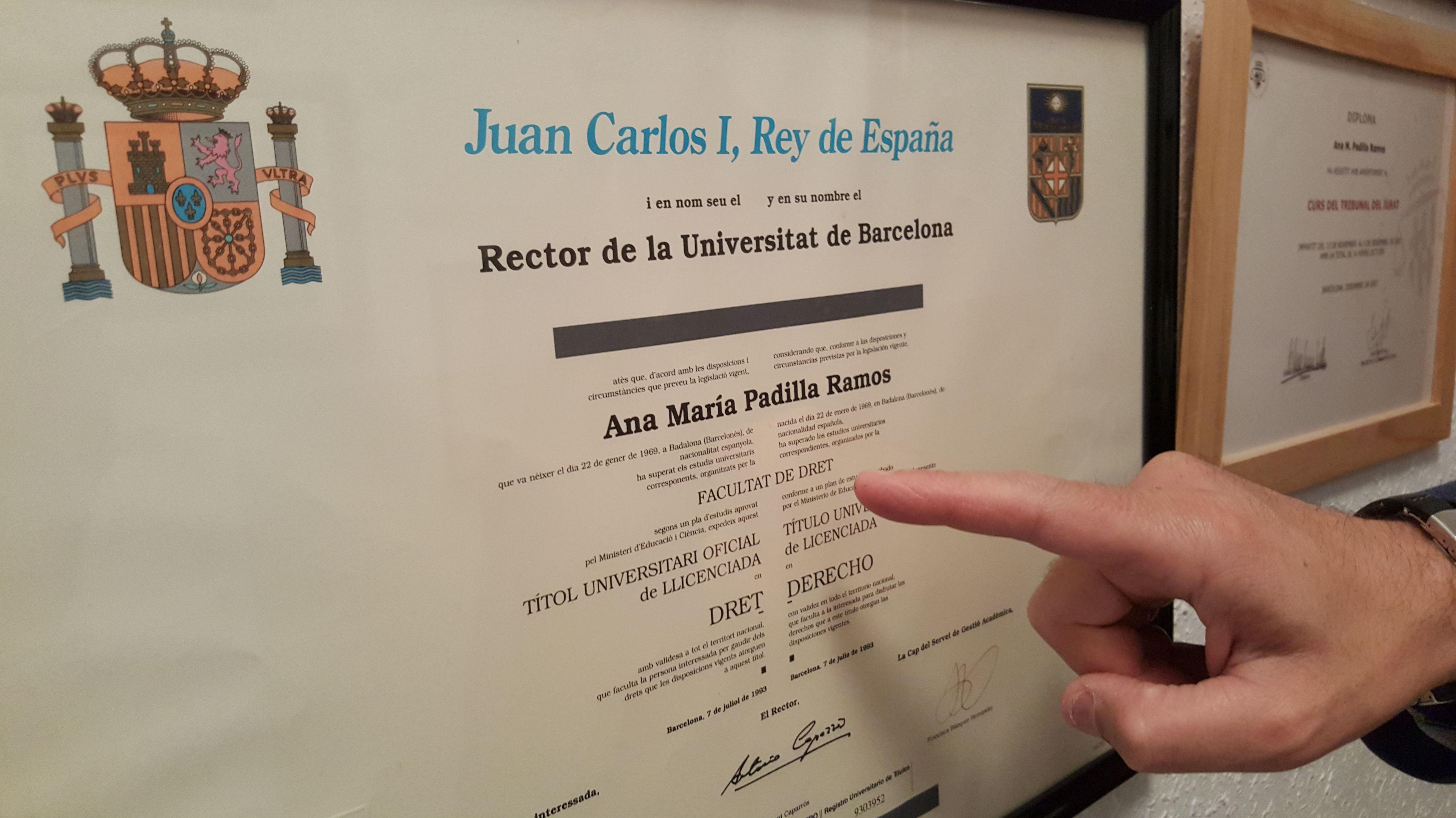 Titulació Facultat de Dret UB