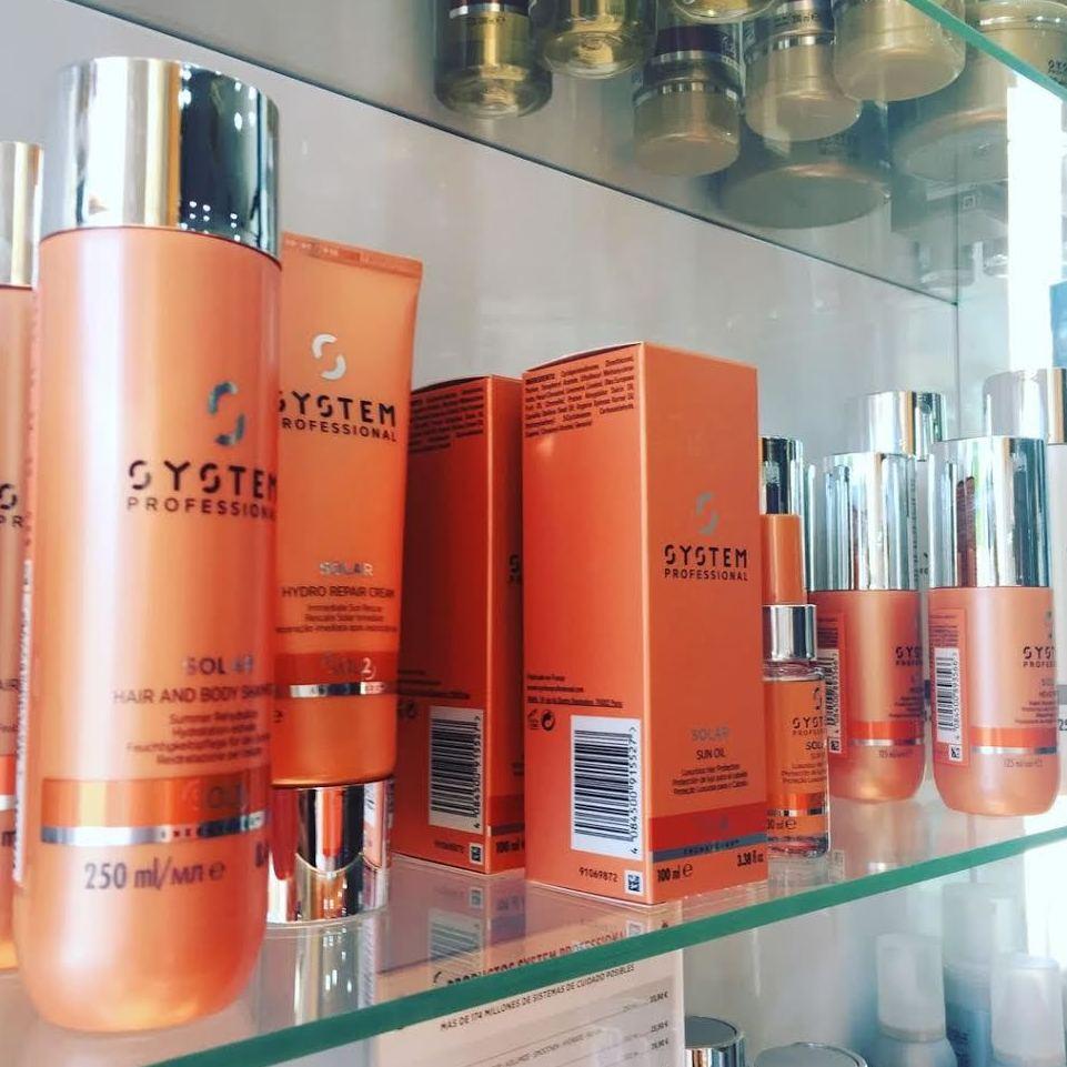 Línea solar para el cabello de SYSTEM PROFESSIONAL