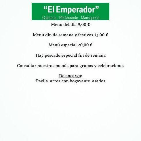 Foto 6 de Restaurantes en Ávila | Restaurante Marisquería El Emperador