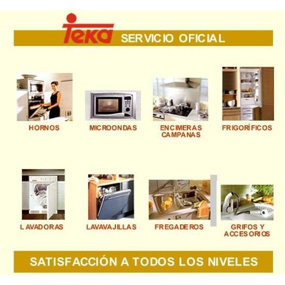 Servicio técnico oficial Teka: Productos y Servicios de Servicio Oficial Teka