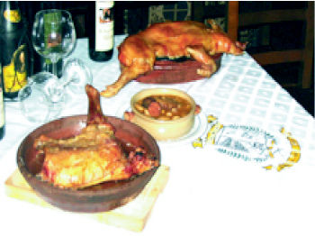 Foto 5 de Cocina castellana en Madrid | Mesón Restaurante El Segoviano