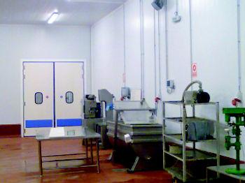aislamiento salas alimentarias Navarra