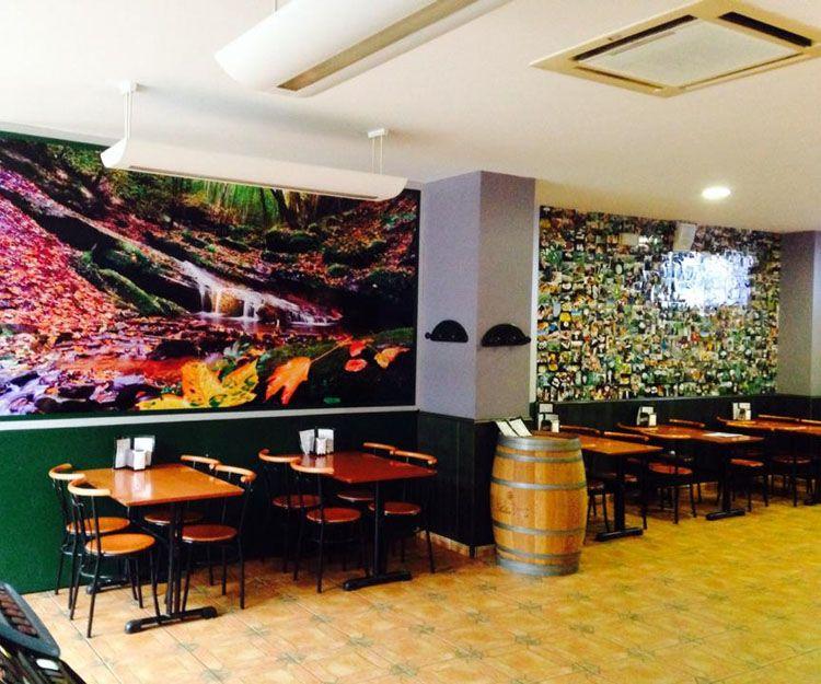 Nueva decoración de nuestro restaurante en Soria