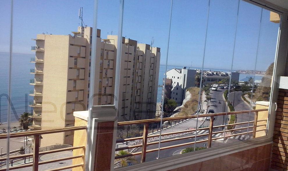 Cortinas de cristal en Málaga