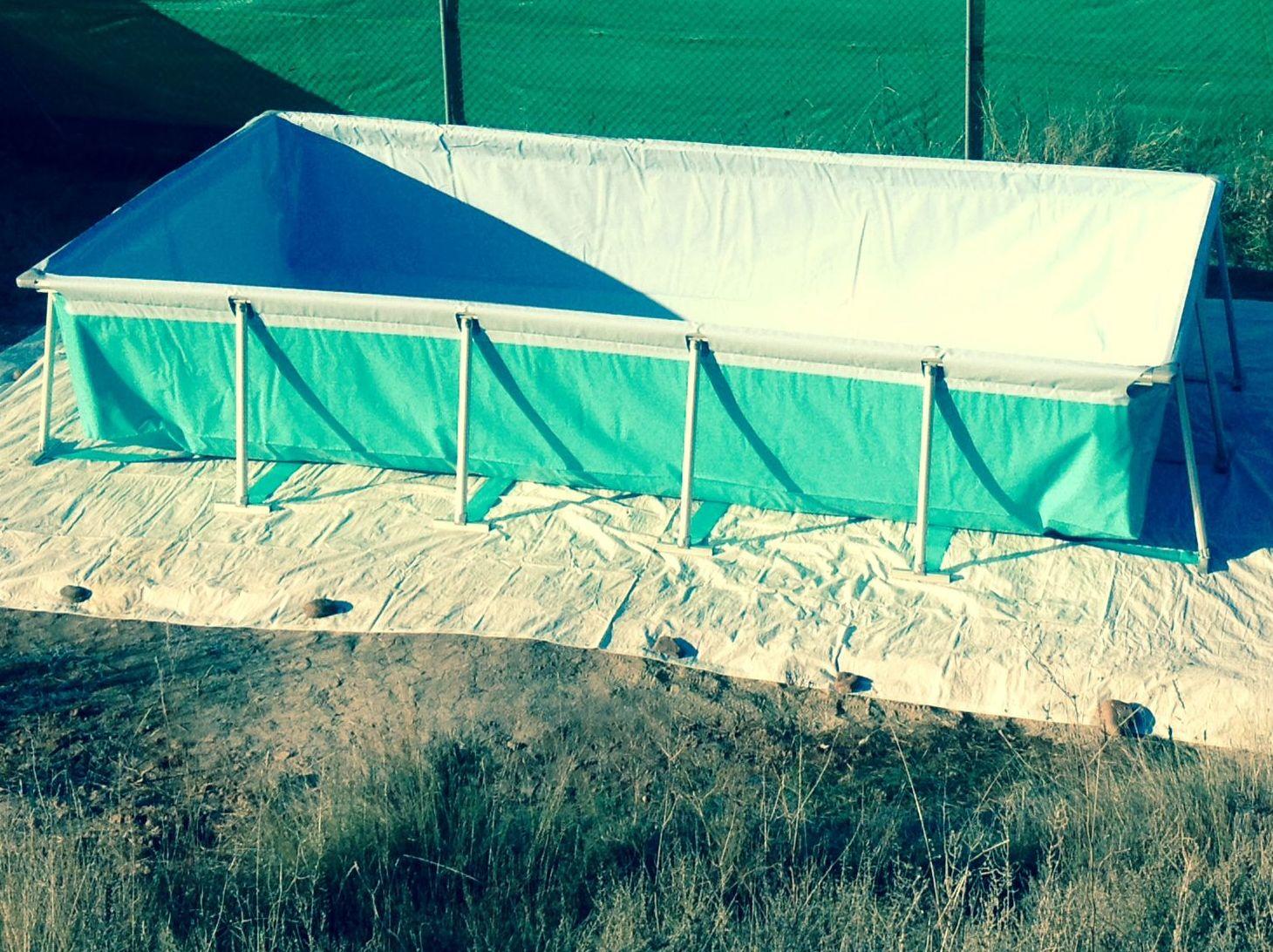 Instalación de piscinas Logroño