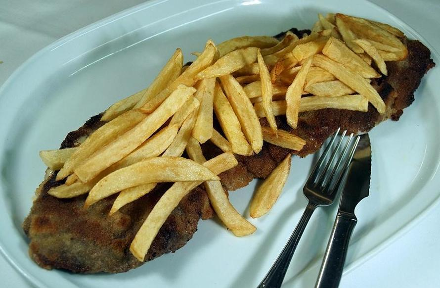 Comer Katxopo en Bilbao