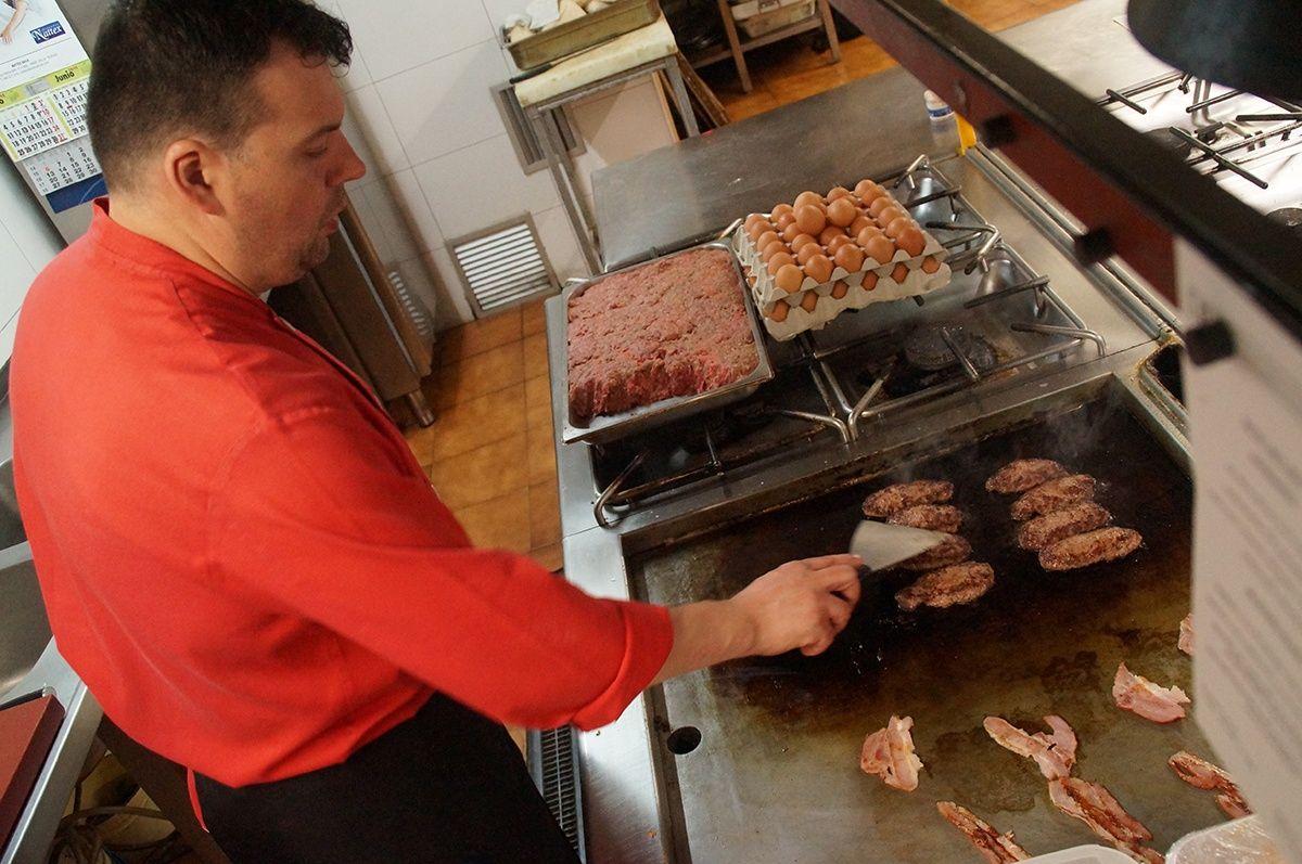 Preparación de las carnes a la plancha