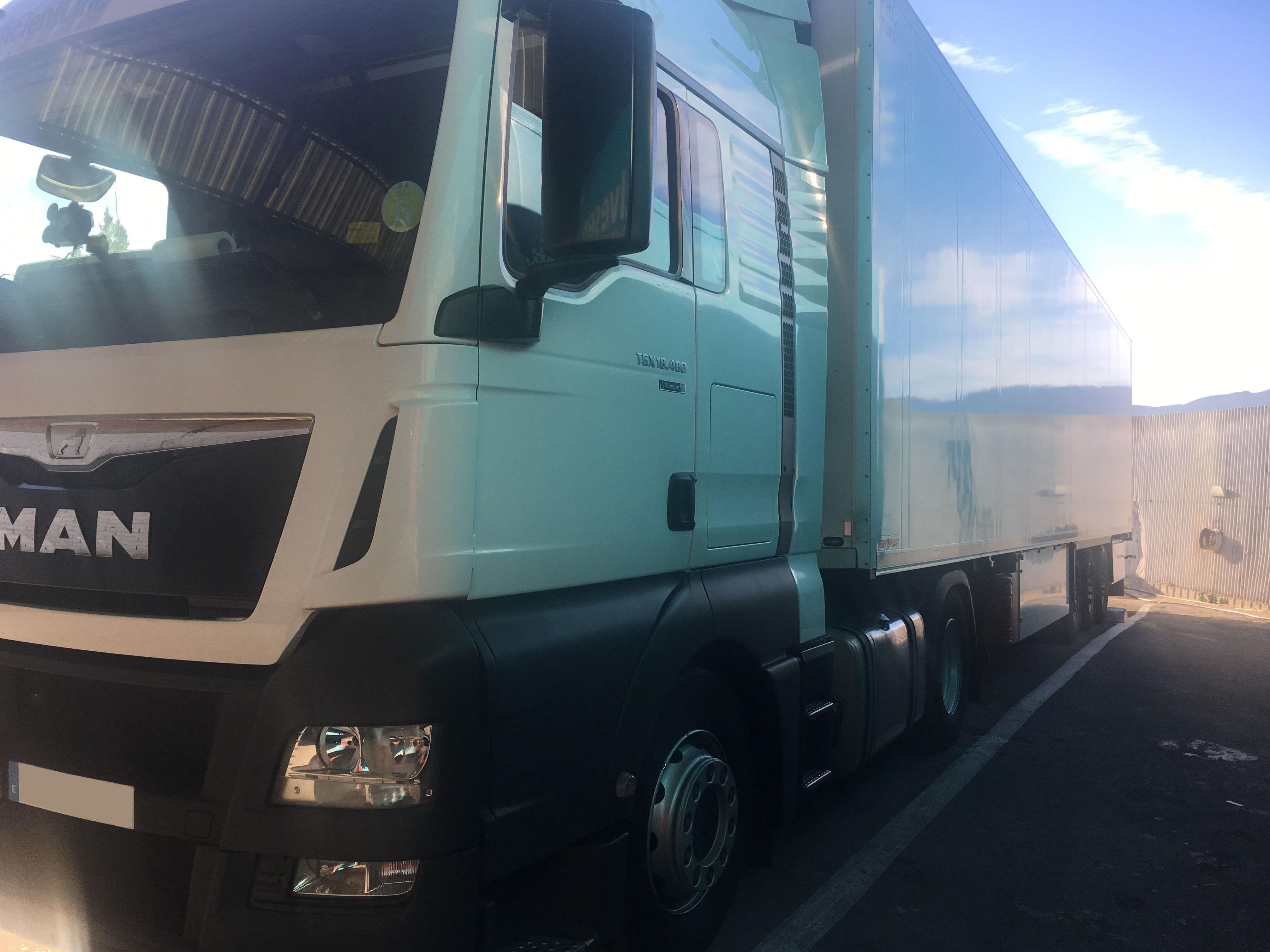 Empresa de transporte frigorífico de mercancías en Murcia