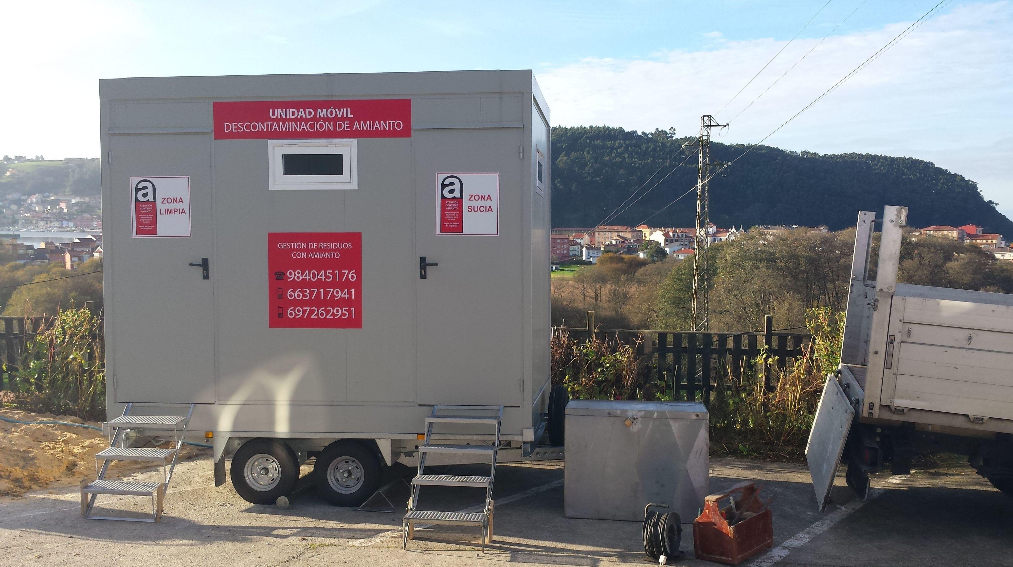 Retirada de amianto Asturias
