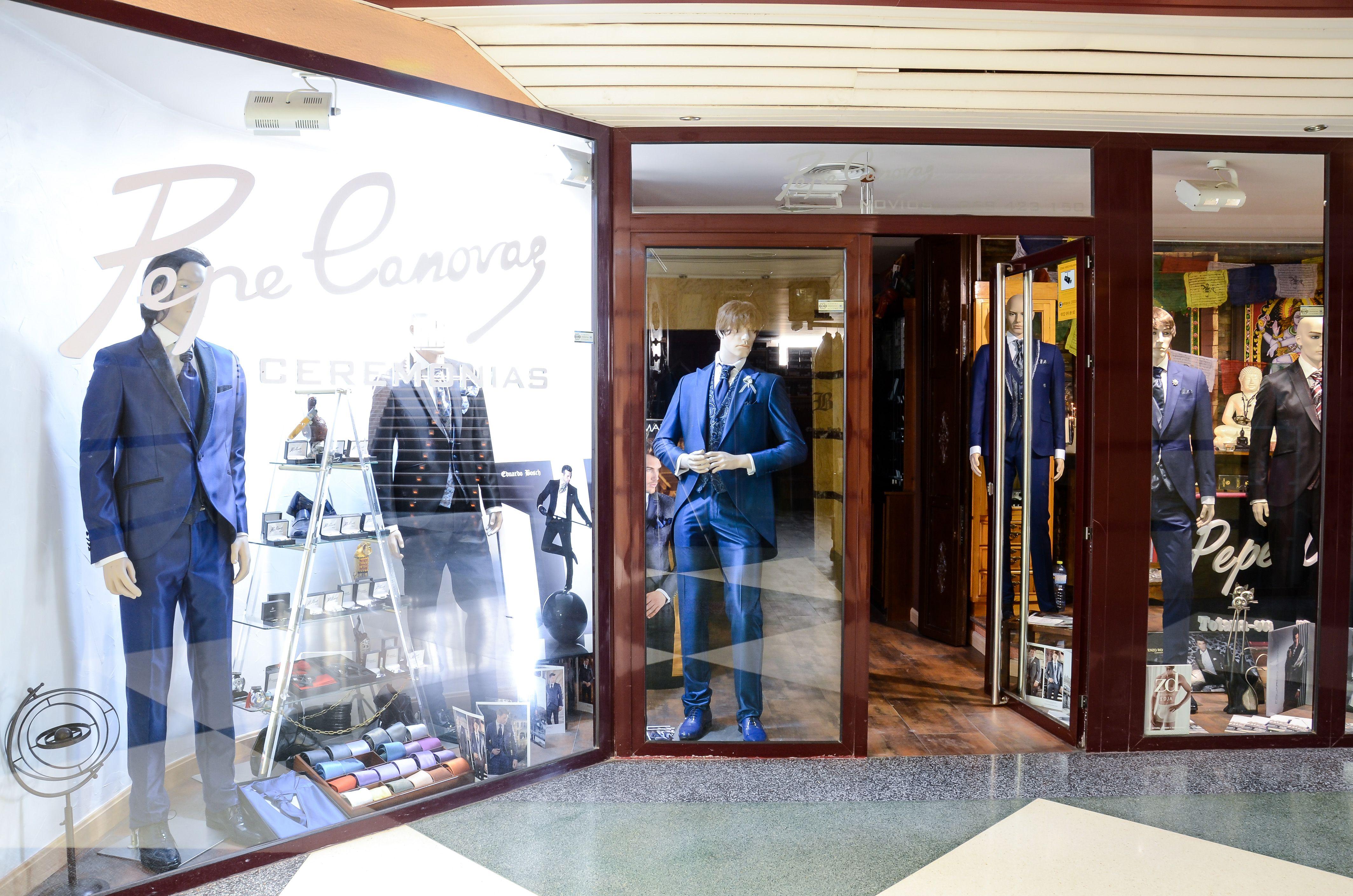 Tienda de ropa para hombre en Totana