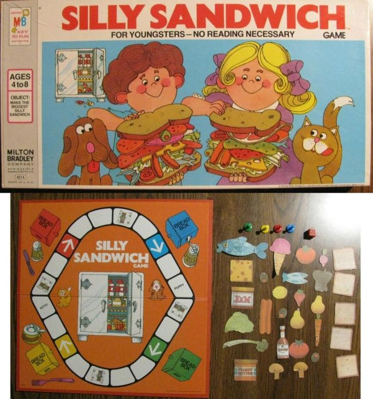 Let's play silly sandwich!