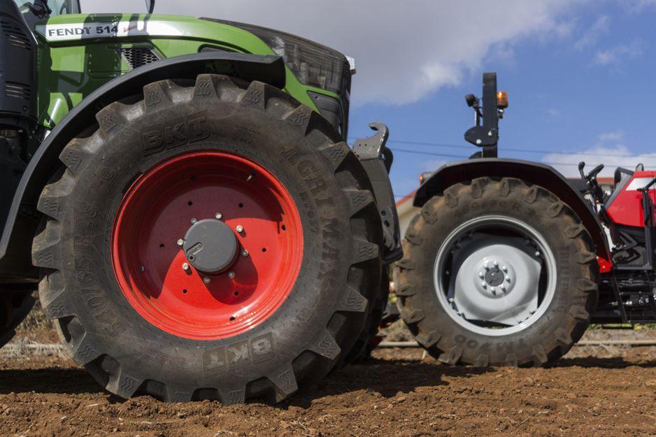 Neumáticos de tractor en Tenerife