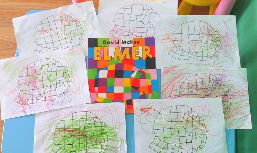 Elmer el elefante de colores