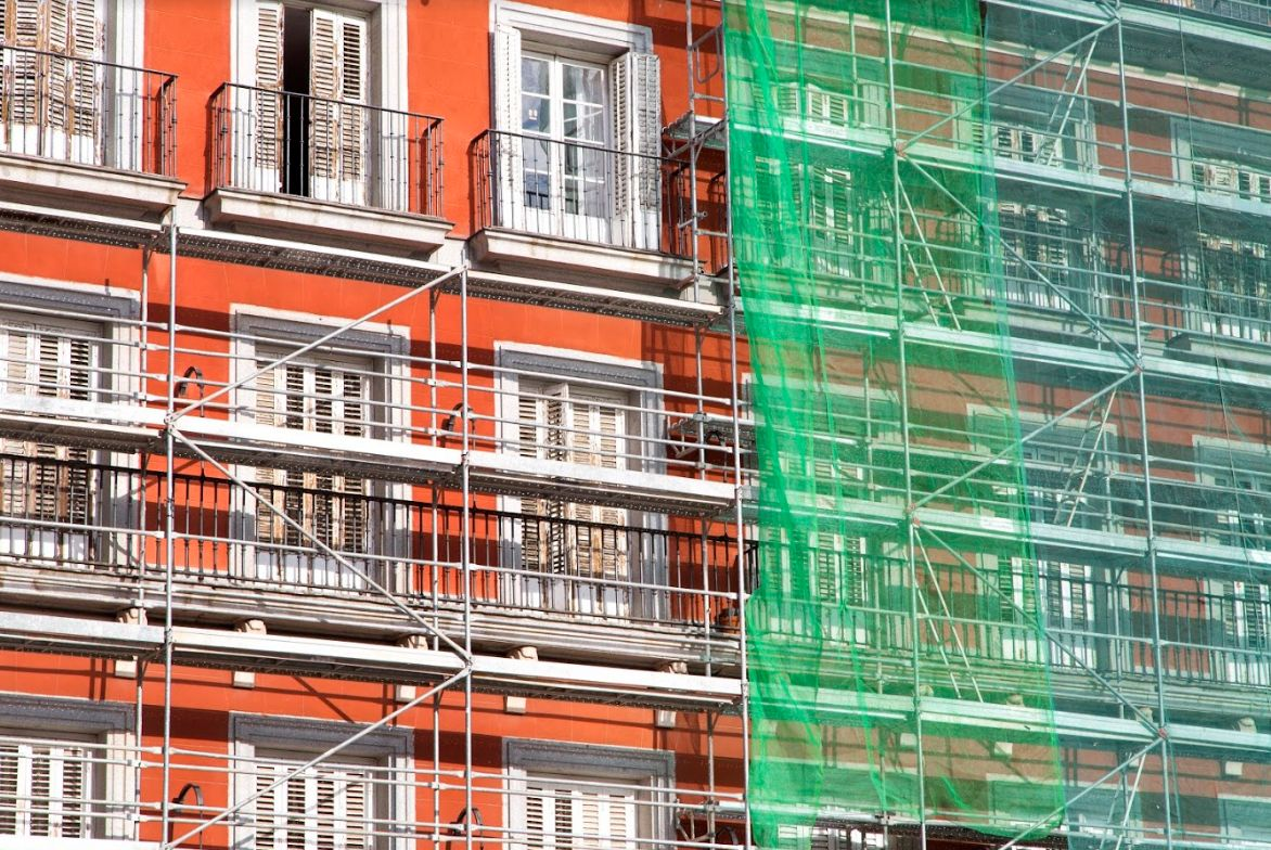 Rehabilitación de fachadas en Tenerife
